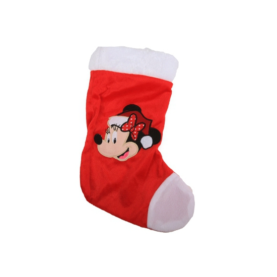 Feest kerstsok Minnie Mouse