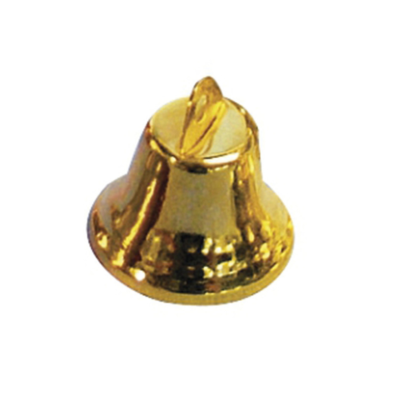 Gouden kerstklokjes 16 mm 20 stuks