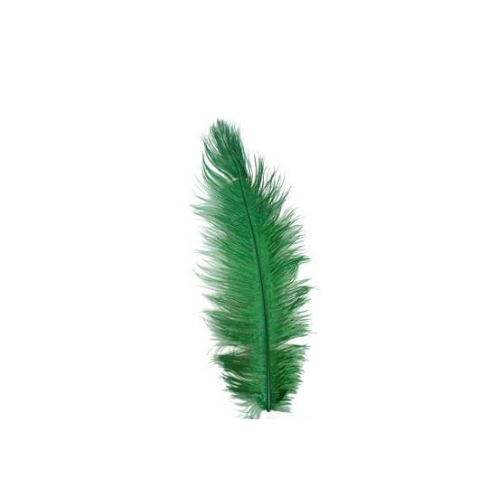 Groene veren 35 cm