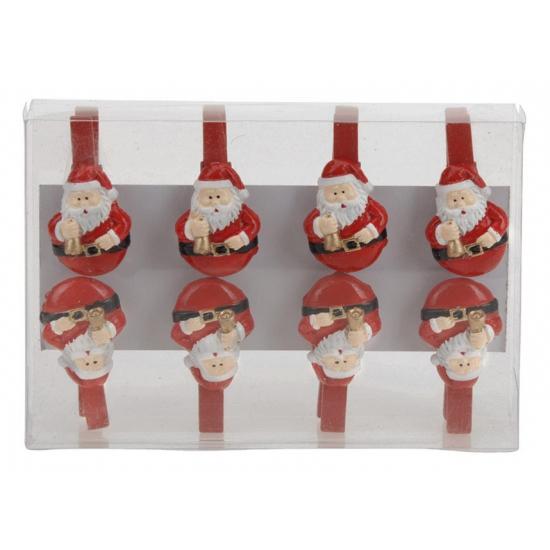 Kerstknijpers Kerstman 8 stuks