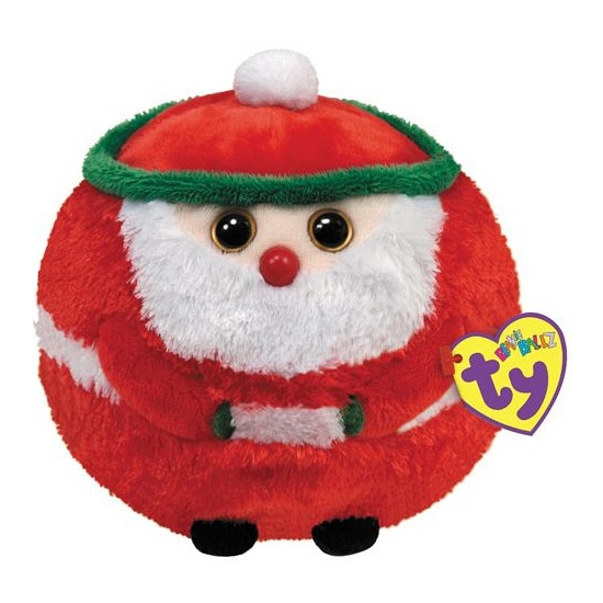 Kerstman knuffeltje 12 cm
