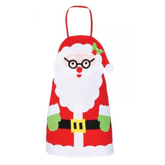 Kerstmis schort voor kinderen