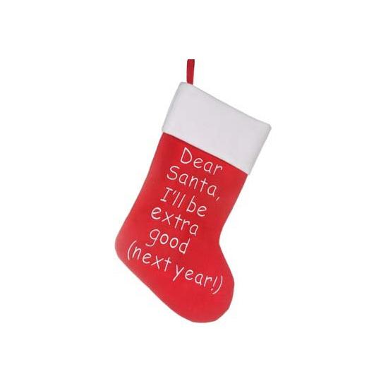 Kerstsok Dear Santa