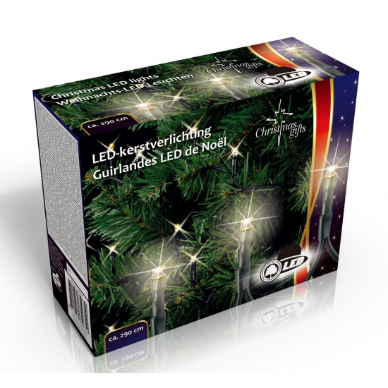 Kerstverlichting warm wit buiten 160 LED