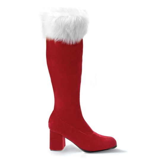 Kerstvrouw gogo laarzen Funtasma