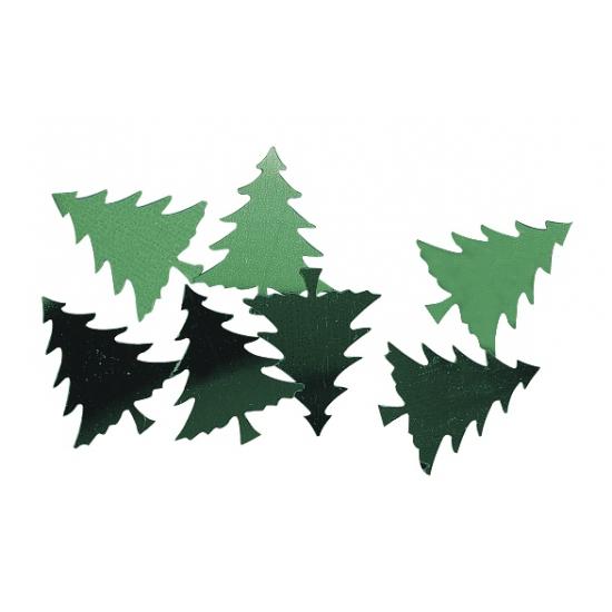 Knutsel kerstboompjes