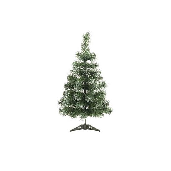 Kunst kerstboompje met wit 60 cm