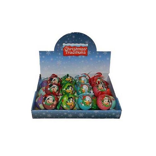 Kunststof Minnie Mouse kerstbal
