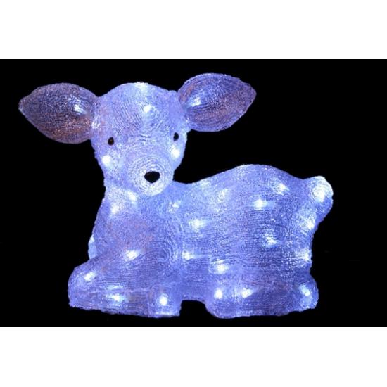 Lichtgevend hert kerstverlichting