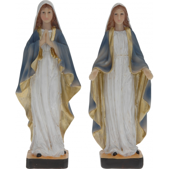 Maria beeld gemaakt van polystone 21 cm