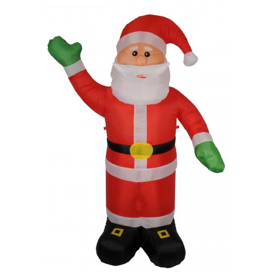 Opblaas kerstman 180 cm