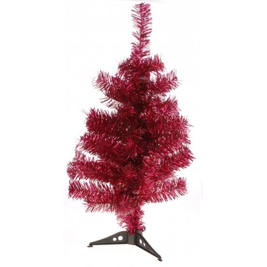 Rode kerstboom 60 cm