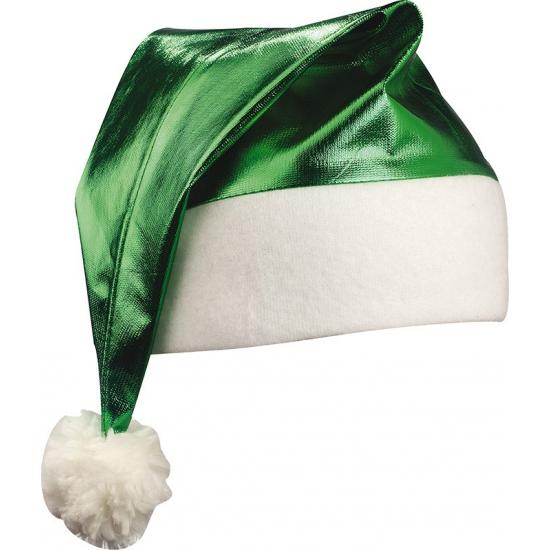 Shiny kerstmuts groen