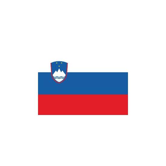 Stickers van de Sloveense vlag