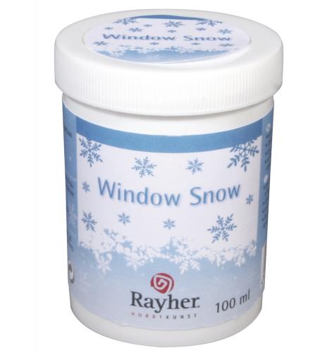 Vloeibare sneeuw voor raamdecoratie sjablonen