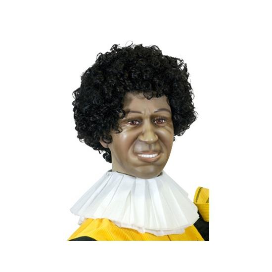 Zwarte Piet kraag van papier