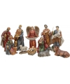 11 delige kerstfiguren set