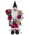 Decoratie kerstman 30 cm
