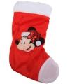 Disney kerstsok minnie mouse