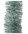 Glans folie slinger mintgroen 270 cm