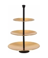 Gouden etagere 3 laags