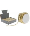 Gouden kralenslinger 5 mm