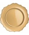 Gouden onderzetbord 33 cm