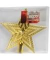 Gouden piek ster 21 cm