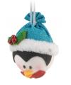 Hangdecoratie pinguin 18 cm