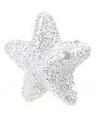 Hangdecoratie sneeuw sterretjes 15 stuks