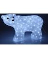 Ijsbeer met led verlichting 60 cm