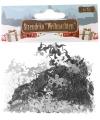 Kerst confetti zilveren engeltjes 15 gram