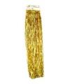 Kerst gouden folieslinger rand 500 cm
