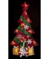 Kerst kerstboom met led verlichting 74 cm