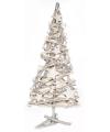 Kerst kerstboom van houten takken 55cm