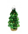 Kerstbal kerstboom 8 cm