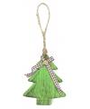 Kerstboomhanger kerstboom 11 cm