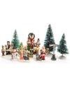 Kerstdorp figuurtjes straat set