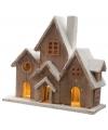 Kerstdorp houten straat