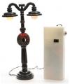 Kerstdorp lantaarn met 2 lampen