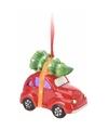 Kersthanger auto met licht type 1