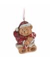 Kersthanger kerstbeer 8 cm