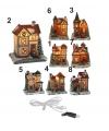 Kersthuisje met verlichting nummer 4