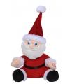 Kerstman met bewegende kerstmuts