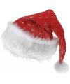 Kerstmuts met zilveren sterren