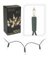 Kerstverlichting 100 lampjes helder wit