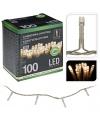 Kerstverlichting 100 led lampjes warm wit