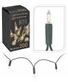 Kerstverlichting 200 lampjes helder wit