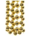 Kralen slinger goud 270 cm