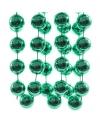 Kralen slinger groen 270 cm